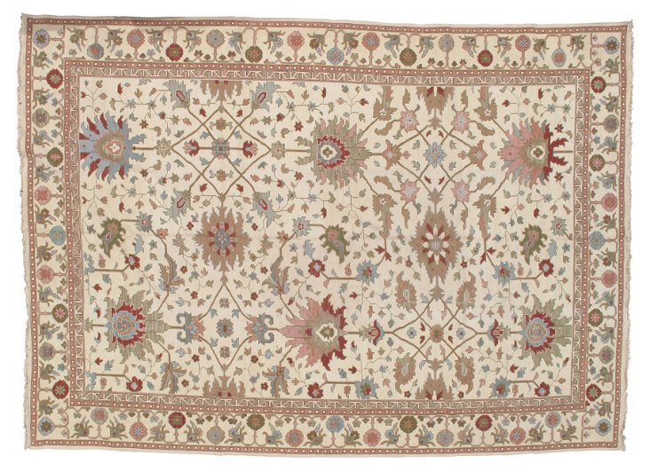 "10'x13'9"" Grace Rug, Cream/Multi"