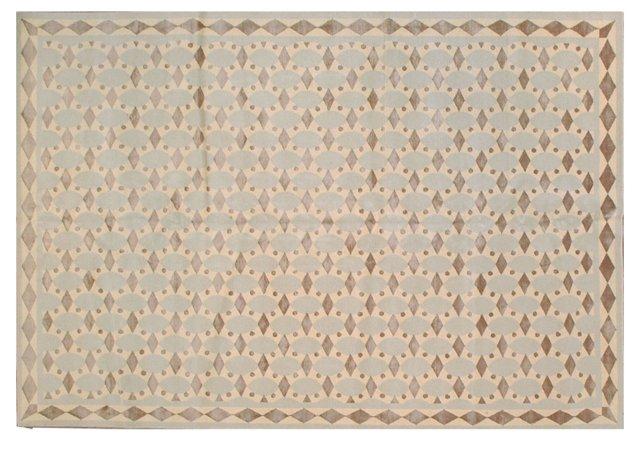 6'x9' Turner Rug, Beige/Taupe/Multi