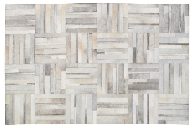Patchwork Hide, Gray