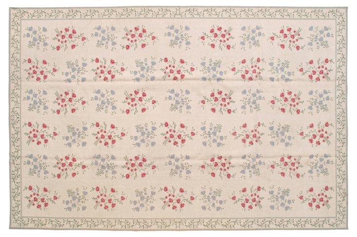 9'x14' Edmund Flat-Weave Rug, Beige