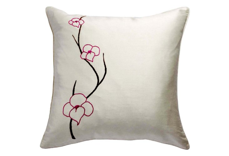 Orchid 20x20 Pillow, Pink