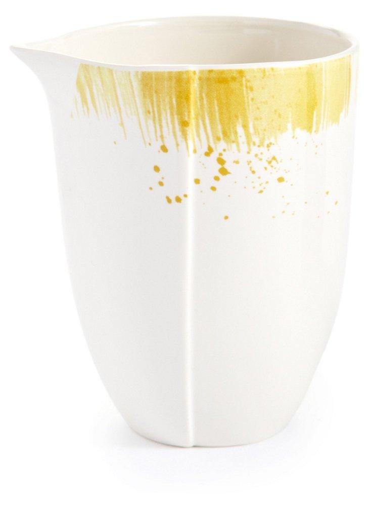 Brushstroke Creamer, Tamarind
