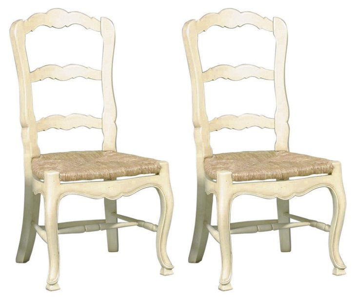 Wilkes Side Chairs, Pair