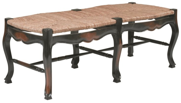 Country French Backless Bench