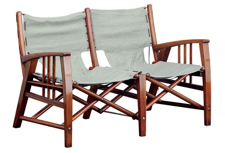 Havana Double Seat Folding Chair