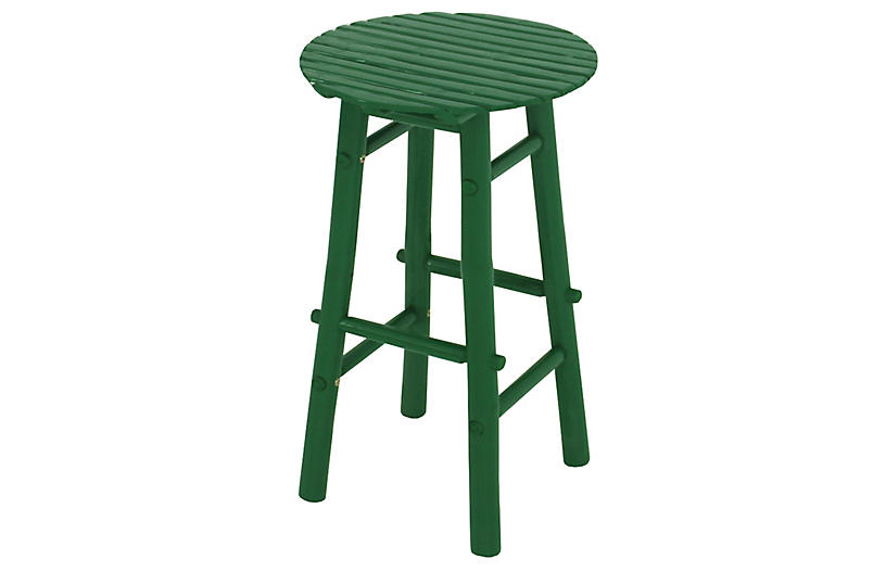 Fine Baba Barstool Green Theyellowbook Wood Chair Design Ideas Theyellowbookinfo