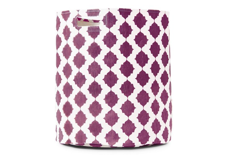 Tile Hamper, Raspberry