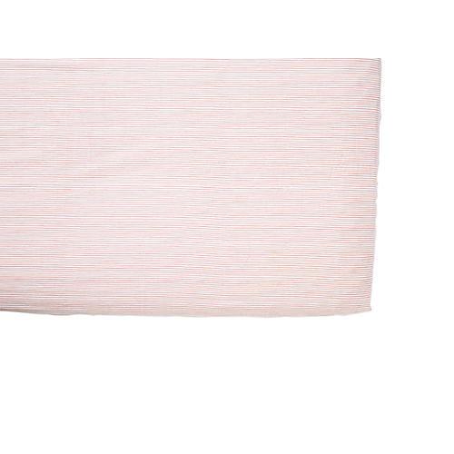 Pencil Stripe Baby Crib Sheet, Pink