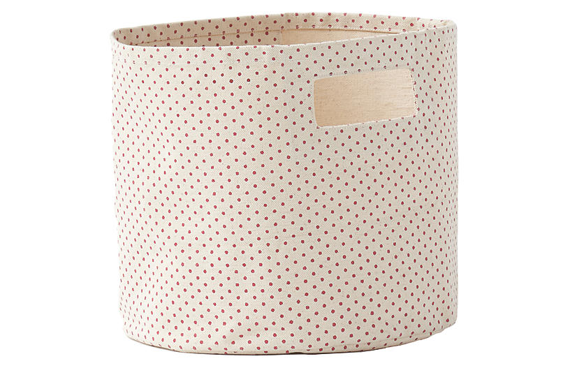 Pin Dot Kids' Pint Storage, Dark Pink