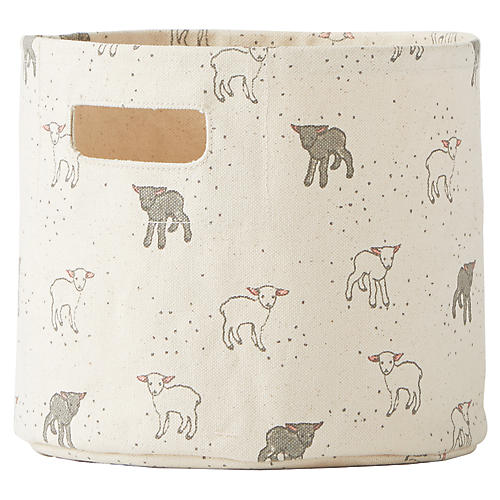 Little Lamb Kids' Storage, Gray/White