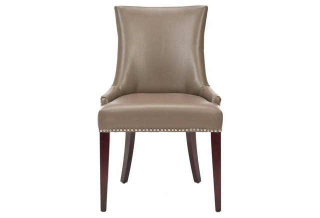 Hayward Dining Chair, Clay Leather