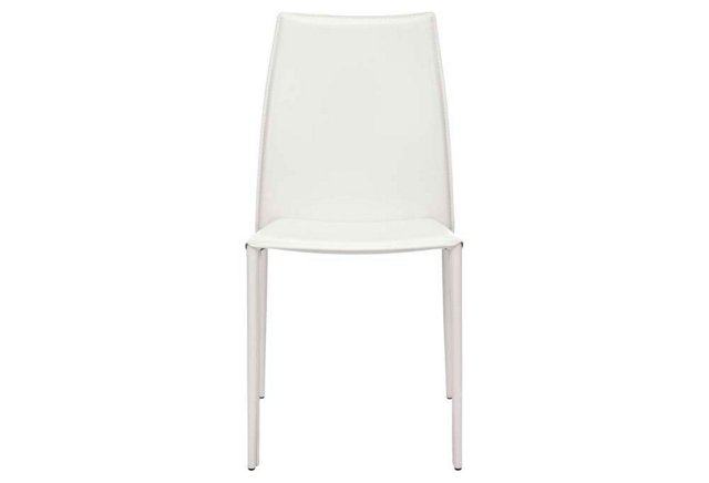 White Westfield Dining Chairs, Pair
