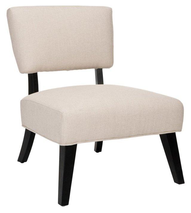 Riley Side Chair, Beige