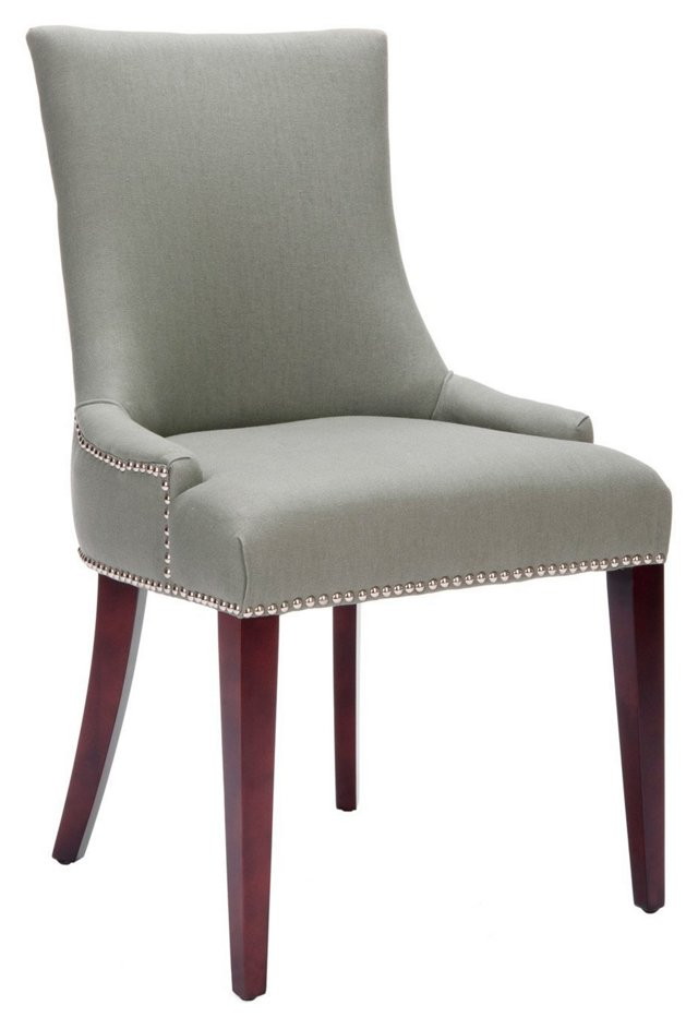 Hayward Dining Chair, Green/Gray