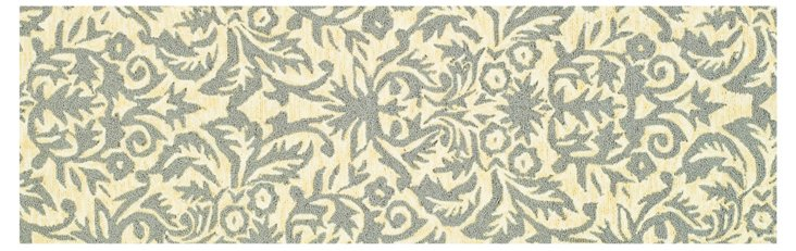 "2'6""x6' Eloise Runner, Beige Yellow/Gray"