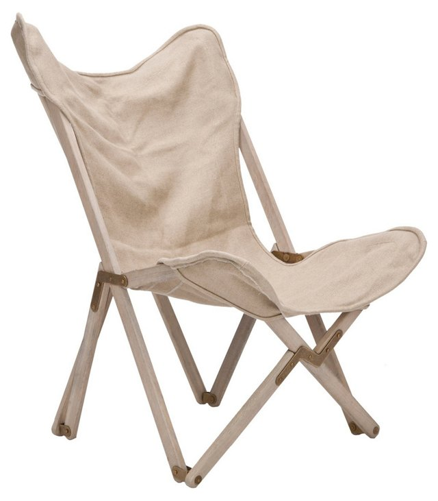 Harvey Lounge Chair, Beige