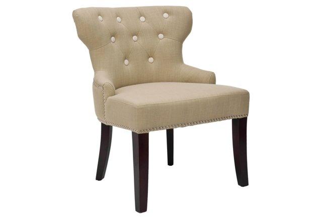 Robert Chair, Beige