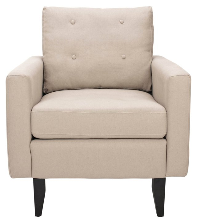 DNU, Marlow Club Chair, Beige