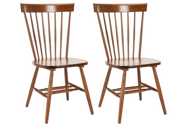 Abigail Dining Chairs, Pair