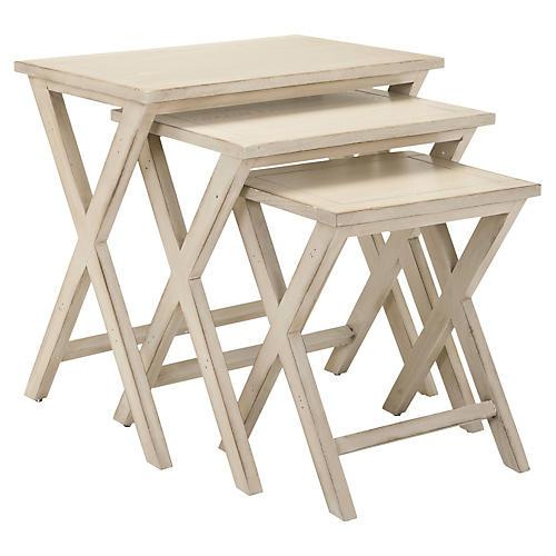 Benson Nesting Tables, Set of 3