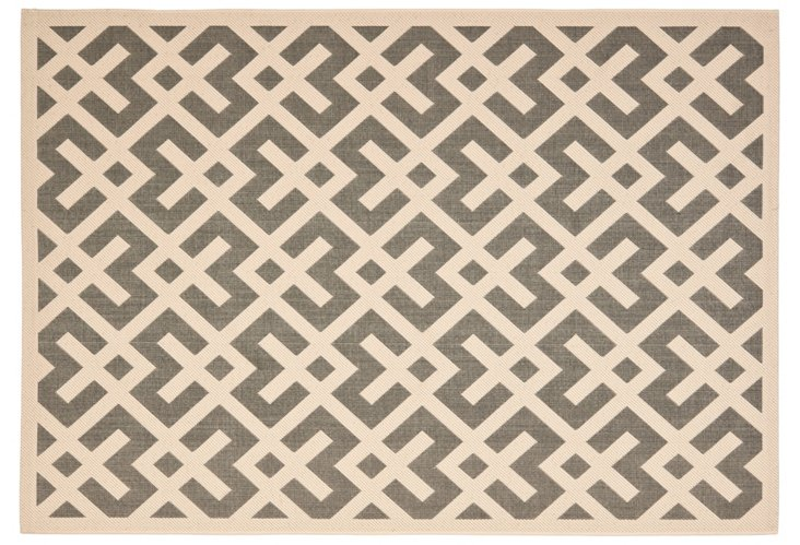 Salina Outdoor Rug, Gray