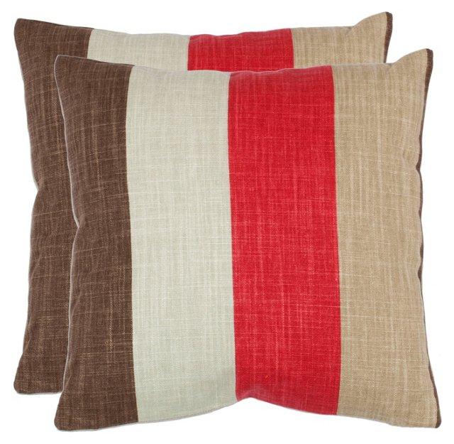 S/2 Corey 18x18 Pillows, Multi