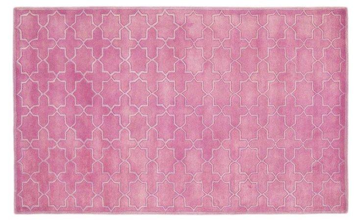4'x6' Cordelia Rug, Pink
