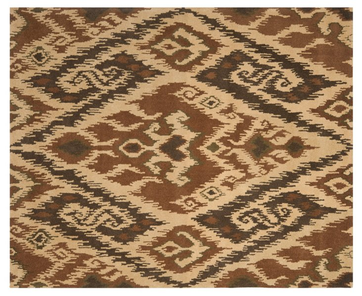 Janos Rug, Brown/Beige