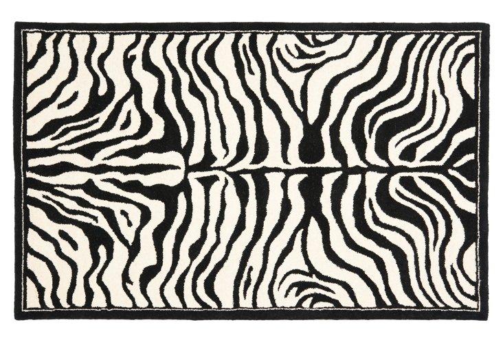 Braishfield Rug, Ivory/Black