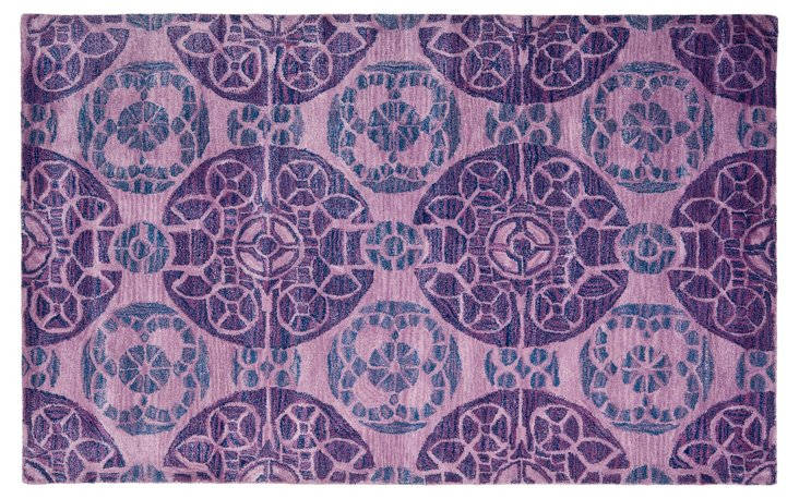 Bleeker Rug, Purple
