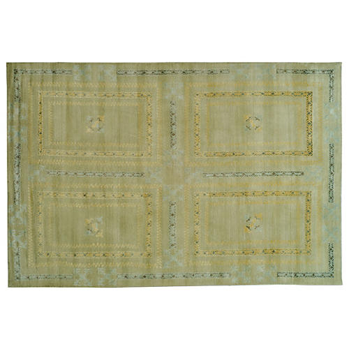 Dufour Hand-Knotted Rug, Sage