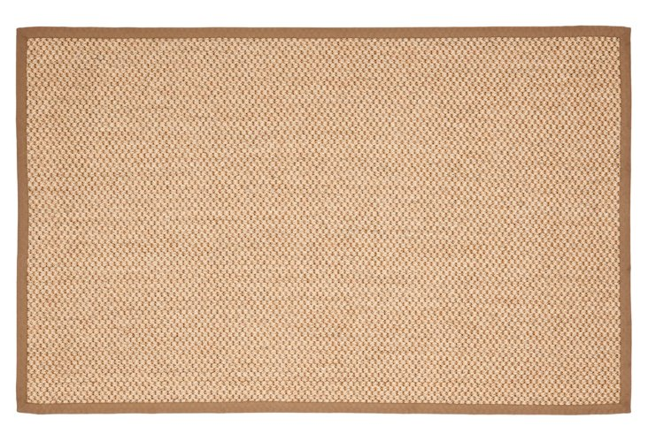 3'x5' Erick Sisal Rug, Natural/Brown