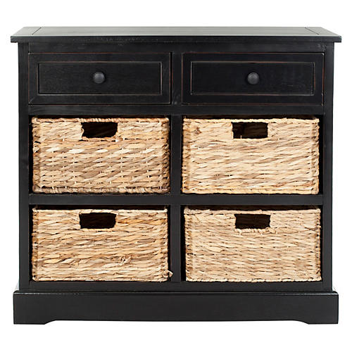 Hayden Storage Unit, Black
