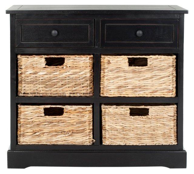 Hayden Storage Unit, Black