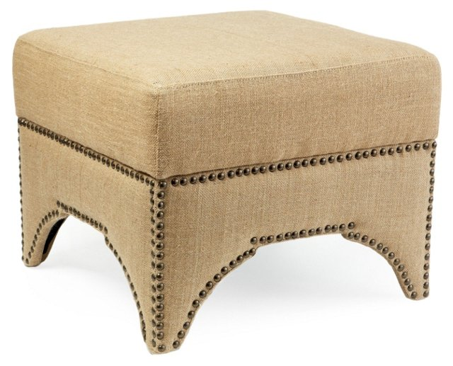 Colton Storage Ottoman, Tan