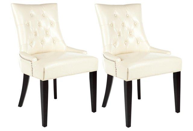 Prescott Dining Chairs, Pair