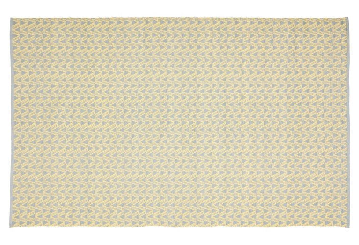Thom Filicia Outdoor Rug, Butter