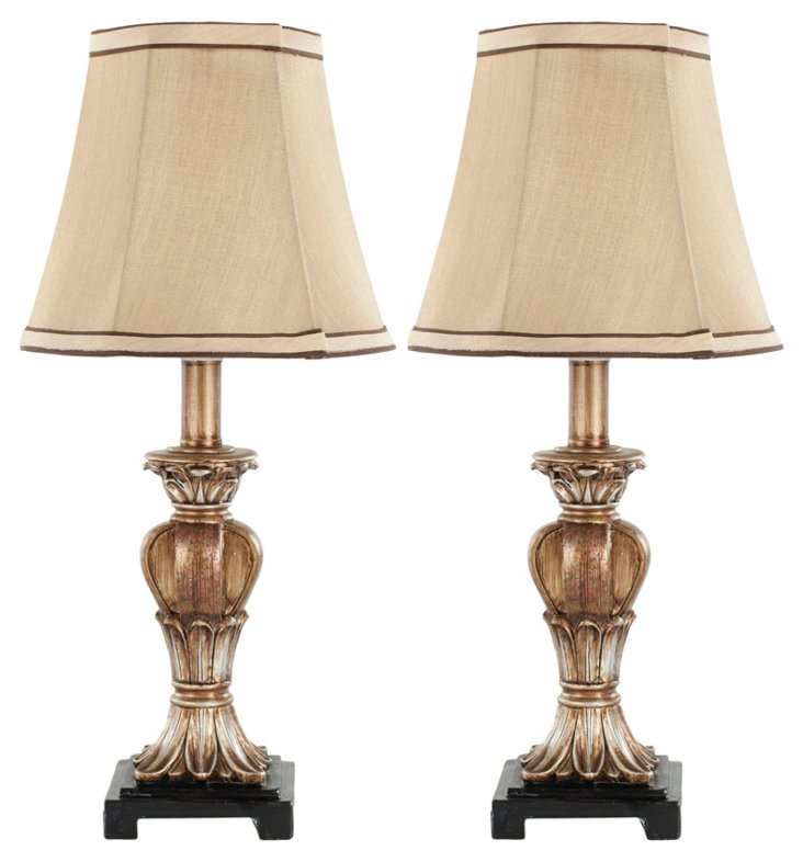Cameron Table Lamps, Pair