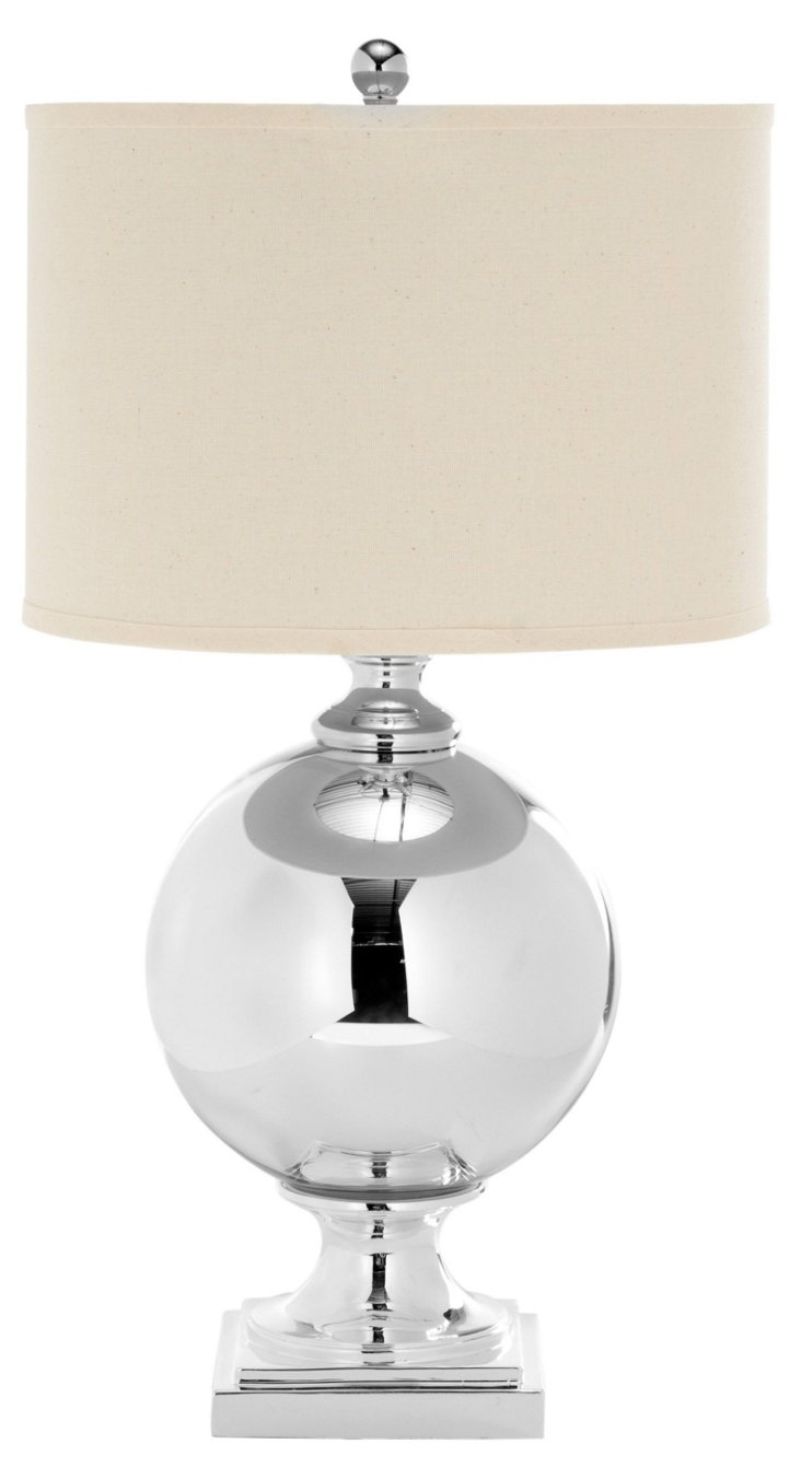 Chelsea Table Lamp, Silver