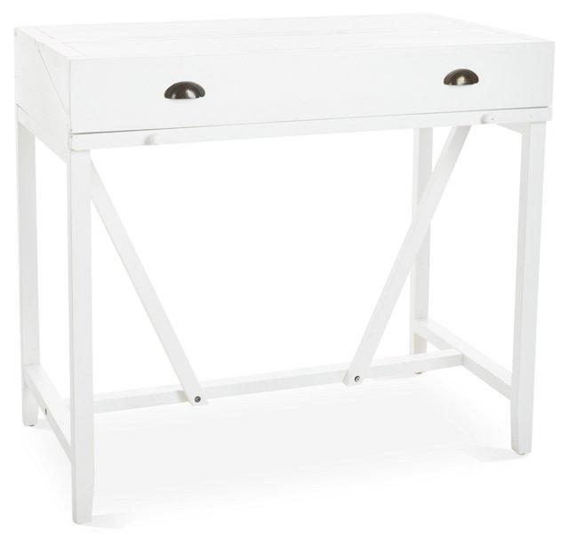 Morton Writing Desk, White