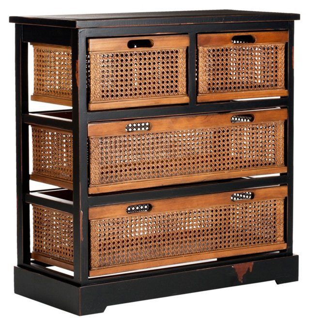 Jackson Storage Unit, Black