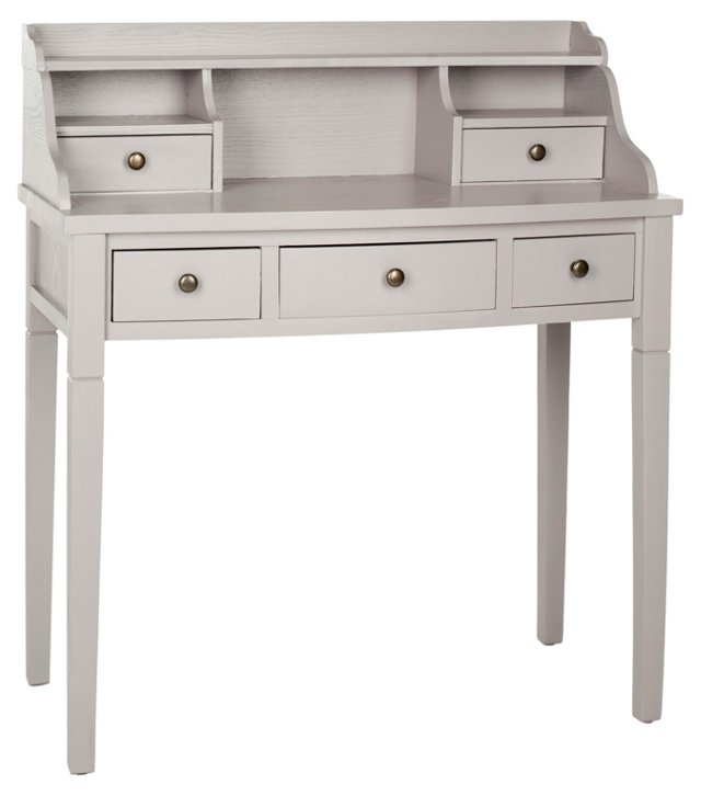 Lilien Desk, Moon Gray