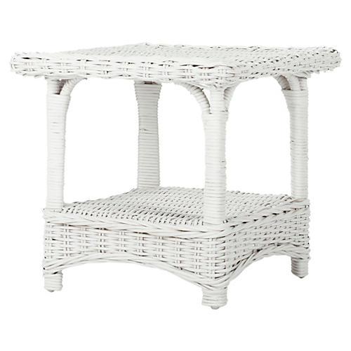 Scott Side Table, White