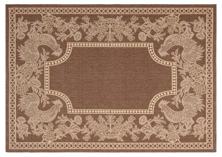 Aldridge Outdoor Rug, Mocha