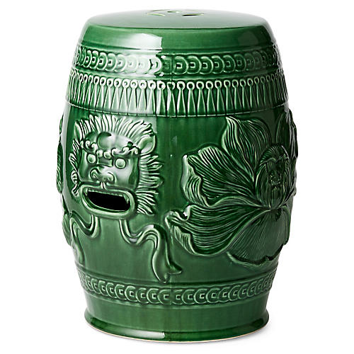 Chinese Lion Garden Stool Green  sc 1 st  One Kings Lane & Garden Stools - Living Room - Furniture | One Kings Lane islam-shia.org
