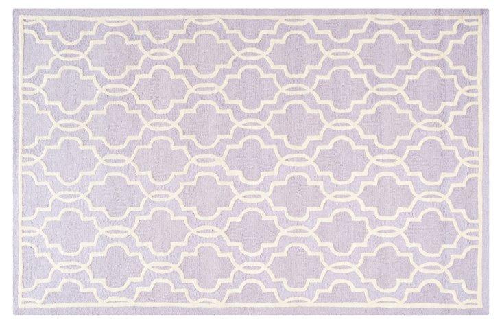 Hadden Rug, Lavender/Ivory