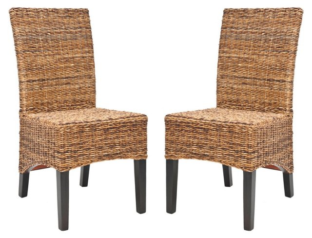 Hudson Side Chairs, Pair