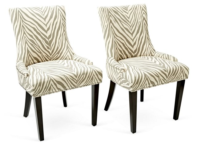 Lester Dining Chairs, Pair