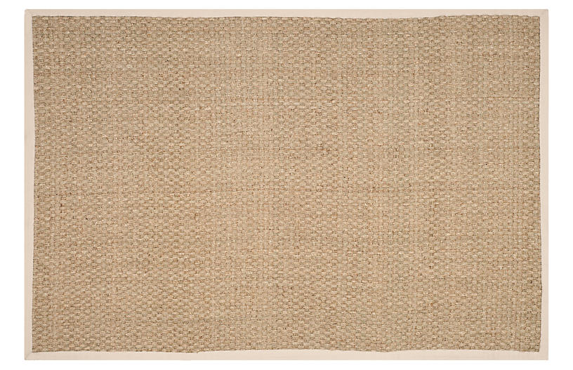 Malcolm Rug Ivory Natural Fiber Rugs By Material