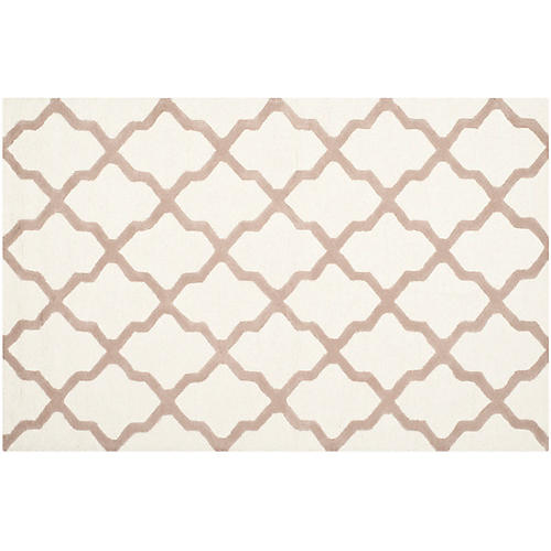 Mulberry Rug, Ivory/Beige